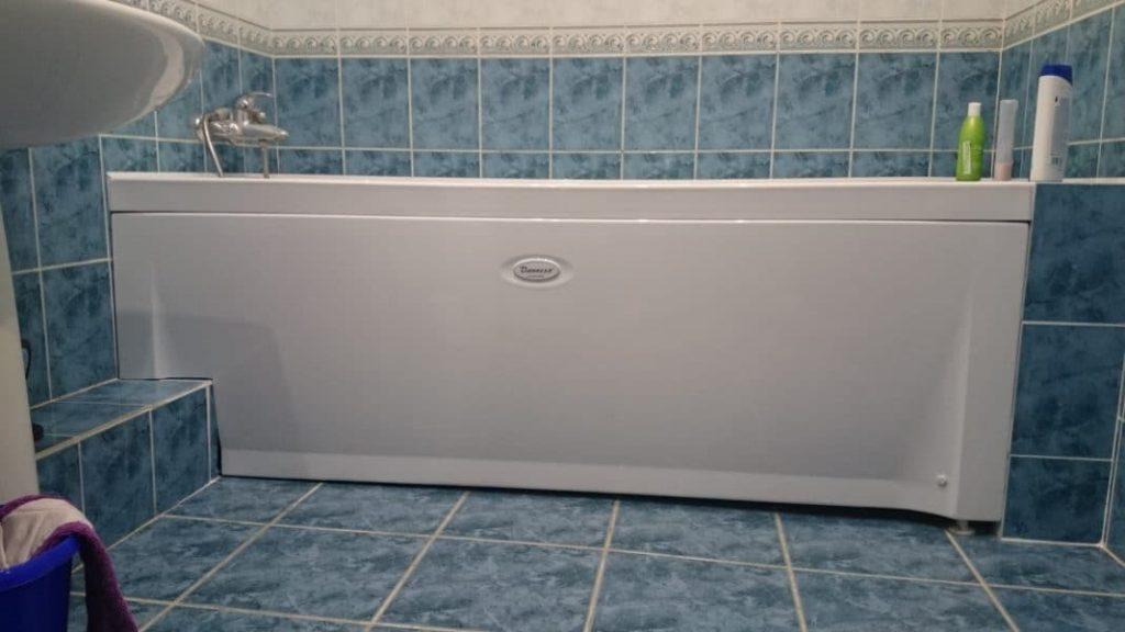 Как закрыть фасад ванны